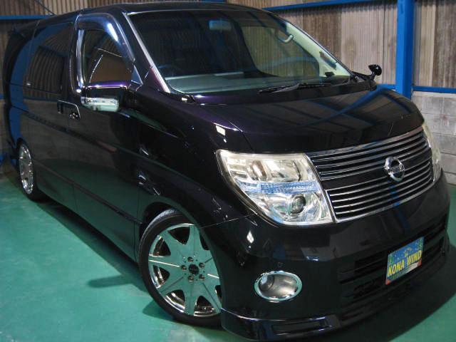 日産 350HSブラックレザーED 車間5.1WナビWSRアラビュ