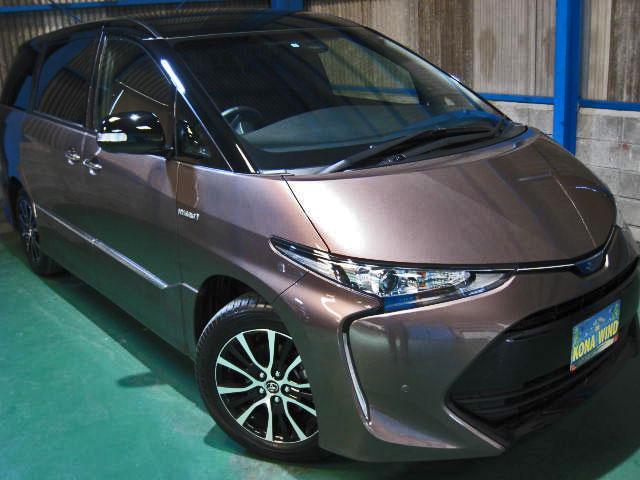 トヨタ アエラス プレミアム-G 4WDプリクラWTVPBドアCソナ