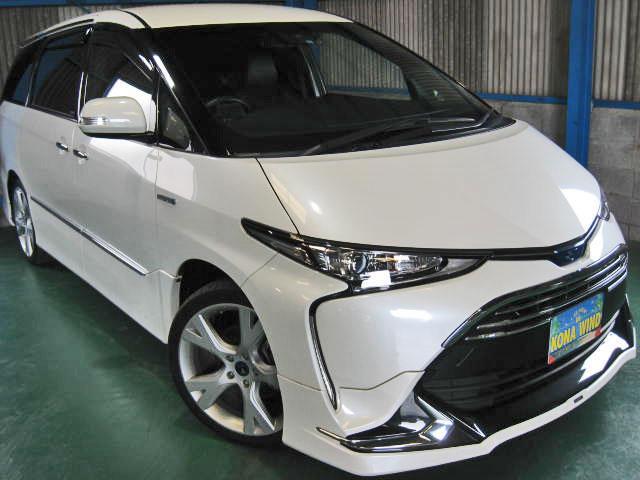 トヨタ アエラスプレミアム-G4WD WTVモデリスタエアロ19AW