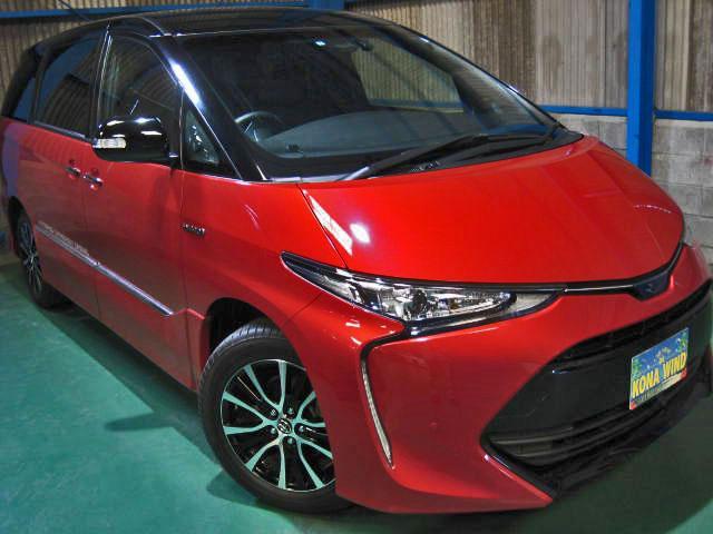 トヨタ アエラス プレミアム-G 4WD プリクラWTV寒冷地Cソナ