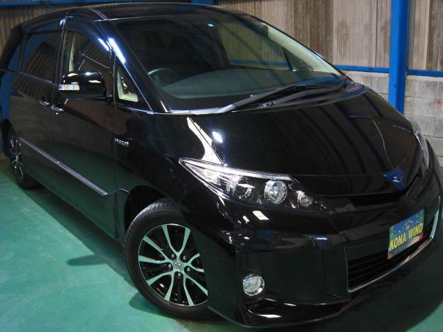 トヨタ アエラス レザーパッケージ 4WD WTVWSR黒革PBドア