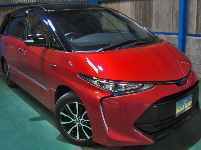 トヨタ アエラスプレミアム-G 4WDプリクラCソナ寒冷地サイドAB