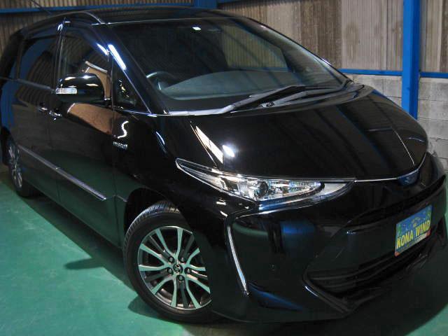 トヨタ アエラス プレミアム-G4WD WTVプリクラCソナPBドア