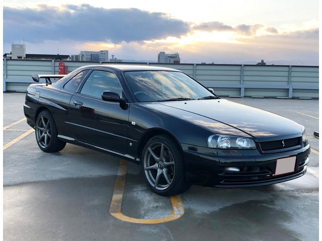 日産 GT-T純正5速ターボ 純正黒 フルノーマル R仕様ベースに