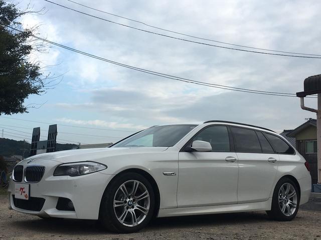 BMW 523iツーリングMスポーツパッケージ ディーラー車 右H