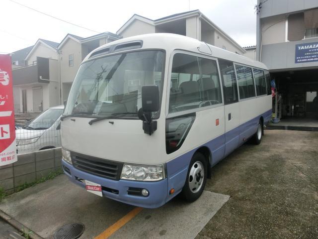 トヨタ コースター LX バス AT ナビ Bカメラ ディーゼルターボ ETC
