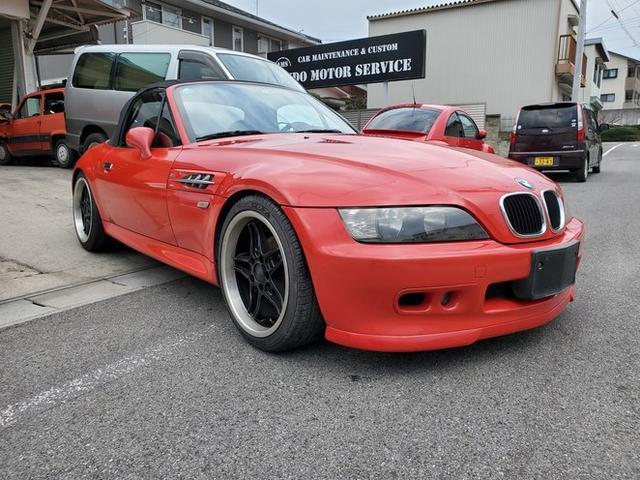 BMW Z3ロードスター ベースグレード 5速MT ローダウン マフラー 18アルミ