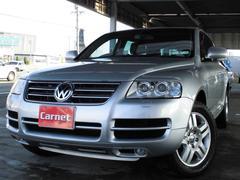 VW トゥアレグV6 4本出しマフラー HDDナビ 地デジ バックカメラ