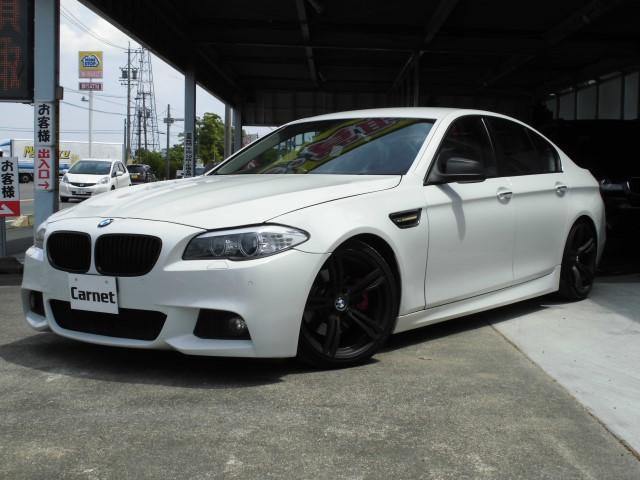 BMW 528i Mスポーツ仕様 純正ナビ Bカメラ 車高調