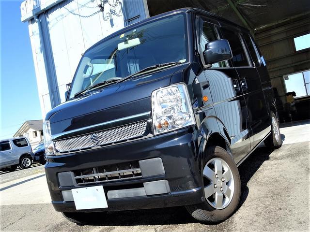 スズキ エブリイワゴン JPターボ 1オーナー 愛知県限定車 ユーザー買取車両 新品ナビ ETC Bluetooth パワースライドドア
