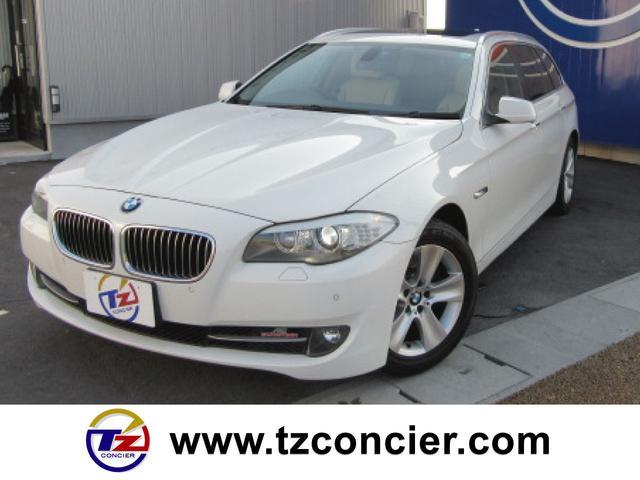 BMW 528iツーリング サンルーフ 革シート 電子シフト