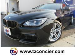 BMW640iグランクーペ Mスポ  黒革シート LEDヘッド