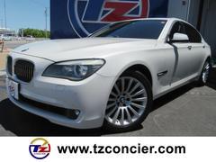 BMW750i オートトランク 革シート 電子シフト