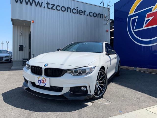BMW 420iクーペ Mスポーツ 社外19インチアルミ 地デジTV
