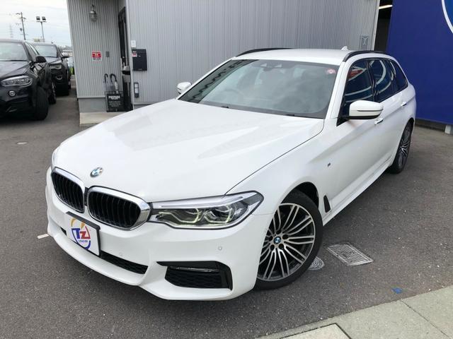 BMW 5シリーズ 523d ツーリング Mスポーツ 360度カメラ
