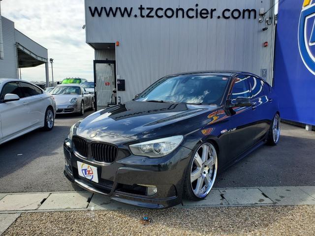 BMW 535iグランツーリスモ 黒革シート サンルーフ  シートヒーター  シートクーラー パワートランク 社外22インチアルミ
