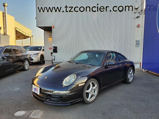 ポルシェ 911 911カレラ 黒革 サンルーフ  純正18インチアルミ シートヒーター HDDナビ 地デジ ETC