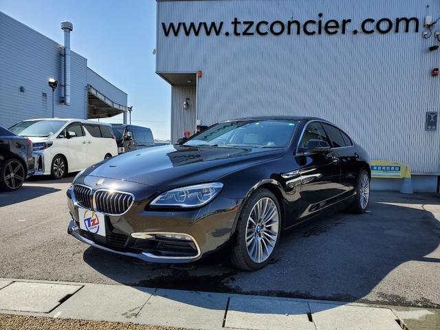 BMW 6シリーズ 640iグランクーペ 640iグランクーペ(5名)インテリジェントセーフティ コンフォートアクセス 革シート サンルーフ