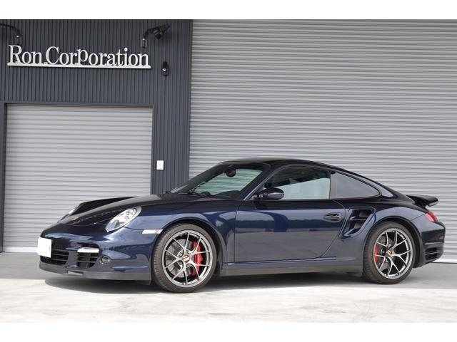 ポルシェ 911 911ターボ カーボンインテリアパッケージ ディーラー車 左ハンドル ナビ フルセグテレビ ETC レーダー探知機 本革パワーシート 記録簿付き 禁煙車 BBSDUREアルミホイール
