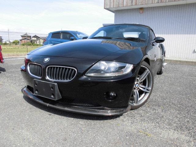 BMW 2.5i 黒革 電動オープン 社外18インチアルミ