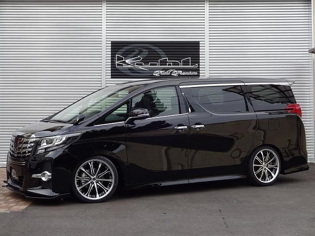 トヨタ 2.5S シルクブレイズエアロ アルパイン10インチナビ