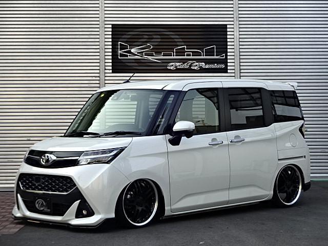 トヨタ カスタムG 新車BLITZ車高調WORKホイール9インチナビ