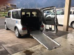キューブ福祉車両 CVT オーディオ付 5名乗り ベンチシート