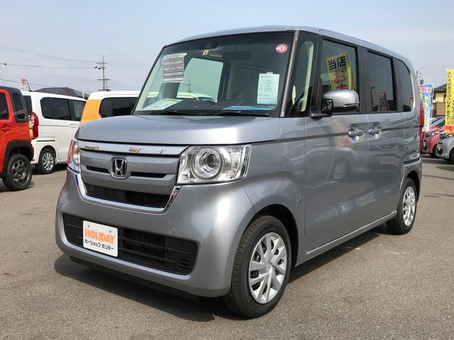 ホンダ N-BOX G・Lホンダセンシング 左側電動スライド 届出済未使用車
