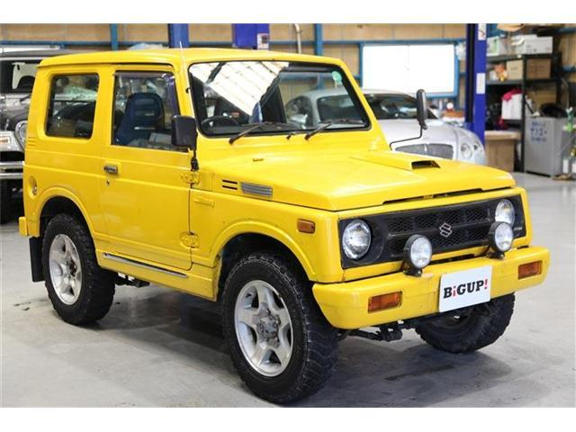 スズキ 車検整備付・社外アルミ・4WD