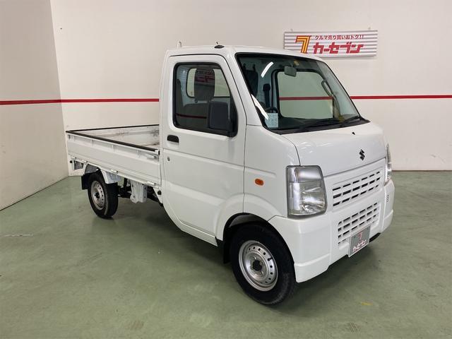 スズキ キャリイトラック KU エアコン パワステ 5MT 軽トラック 3方開