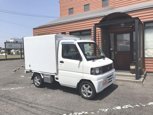 三菱 ミニキャブトラック  低温冷蔵冷凍車 -20℃まで冷えます!!整備済み。即戦力!!