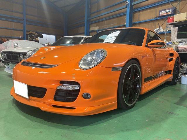 ポルシェ 911 911ターボ スポーツクロノパッケージ 4WD 6速MT フロント回りプロテクションフイルム