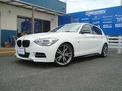 BMW116iMスポ 純正HDDナビETC Mパフォーマンスパーツ