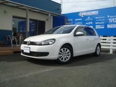 VW ゴルフTSIトレンドLブルーモーションT 純正SDナビ ETC