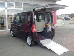 タントX SAリアシート付仕様 福祉車両スローパー ETC