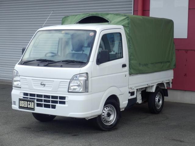 日産 NT100クリッパートラック DX 幌付き エアバック付 パワステ付 A/C