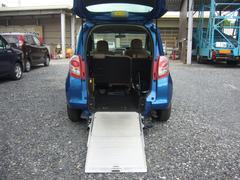 ラクティスX ウエルキャブ車 車椅子仕様スロープタイプ  ナビ付ETC