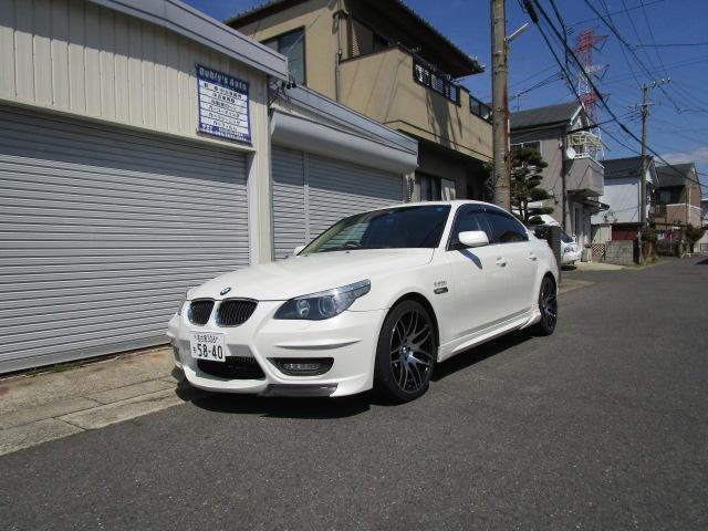 BMW 530iハイラインパッケージ HID レザーシート ナビ