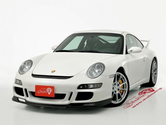 ポルシェ 911 911GT3 タイプ997 クラブスポーツ 新車並行 19インチGT3AW バケットシート ロールケージ クルーズコントロール HID ヘッドウォッシャー 盗難防止システム アルカンターラ ETC HDDナビ