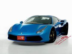 フェラーリ 488スパイダーベースグレード  ワンオーナー フルレザー 特注カラー