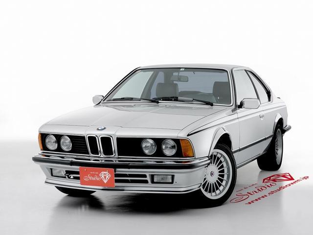 BMW 635CSi E24 17インチアルピナAW 黒革シート