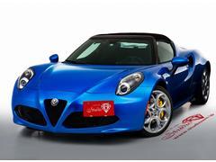 アルファロメオ 4Cスパイダーイタリア 特別限定車 国内限定15台 19インチAW