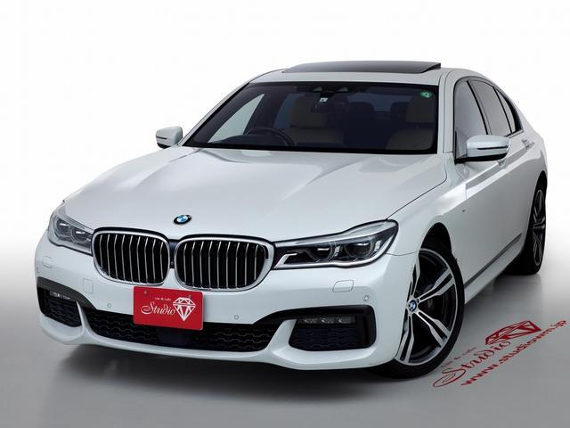 BMW 740i Mスポーツ プラスパッケージ(マルチファンクションレザーステアリング クライメントコンフォートガラス サンルーフ、ヘッドアップディスプレイ)20inchMライトAW 全周囲カメラ LED ナッパレザーシート