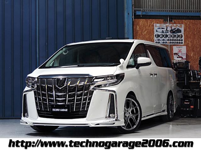 トヨタ 2.5S正規WALDフルエアロ アルパイン9インチナビ