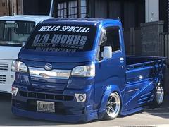 ハイゼットトラックSTD ハロースペシャルデモカー 5速マニュアル 車高調