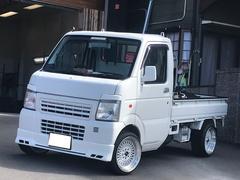 スクラムトラックKCエアコン・パワステ 5速マニュアル 社外15AW 車高調