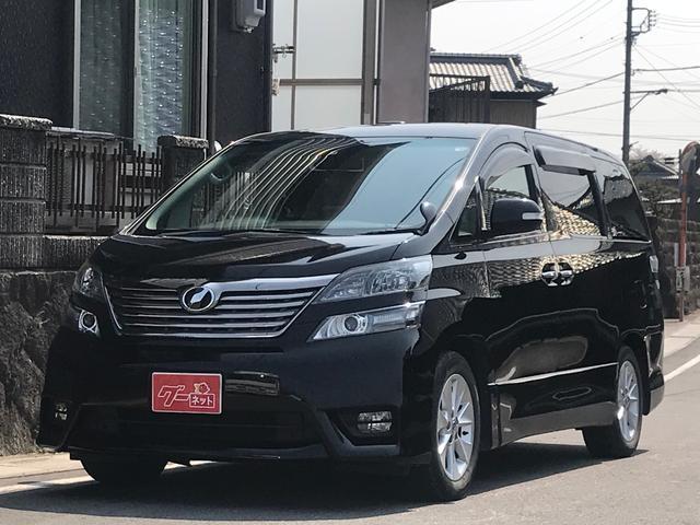 トヨタ 2.4Z プラチナムセレクション 社外HDDナビ ETC
