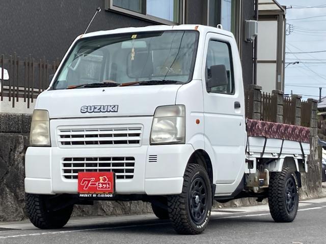 スズキ KCエアコン・パワステ 4WD 5速マニュアル 軽トラック