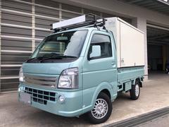 キャリイトラックKX 4WD 5AGS PS PW ETC 3方開 ランプス