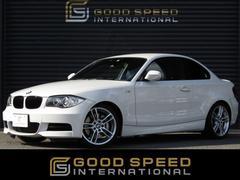 BMW135i 純正HDDナビ 黒革シート 7速DCT 1オーナー